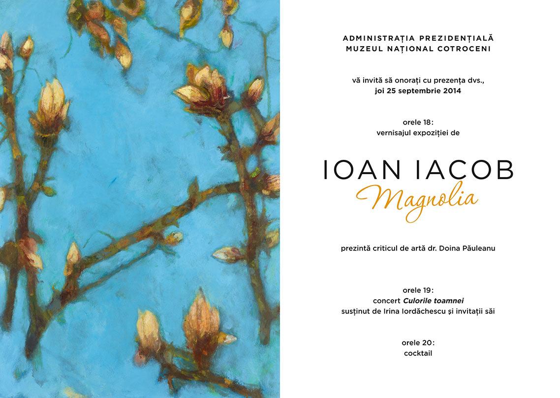 Expoziţie de pictură semnată Ioan Iacob la Muzeul Naţional Cotroceni