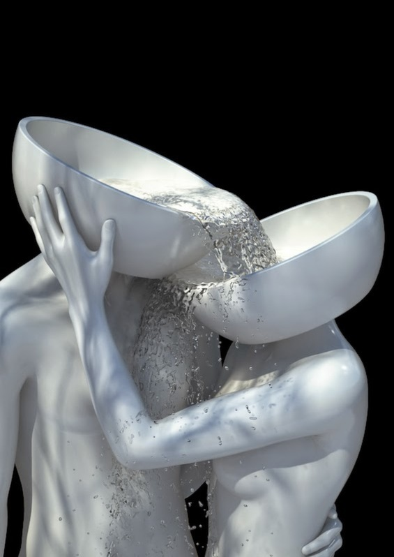 Kyuin Shim's Digital Sculptures Of Science Fiction Disfigurement