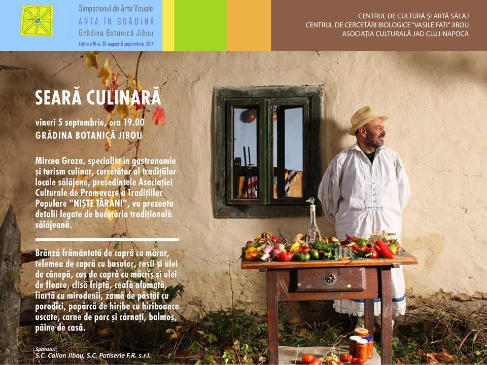 Mircea Groza – seara culinară @ Jibou