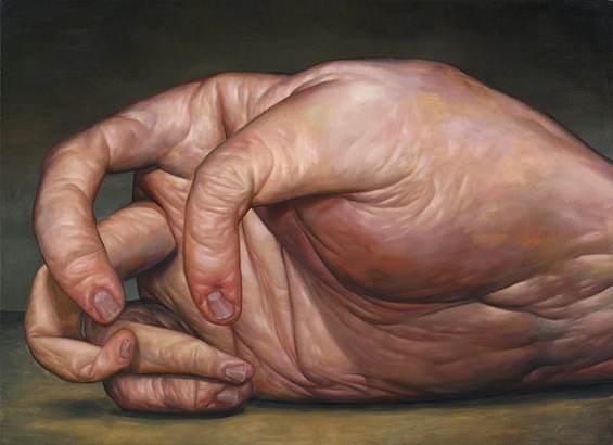 Seth Alverson's Grotesque Paintings Of Deformed And Severed Body Parts