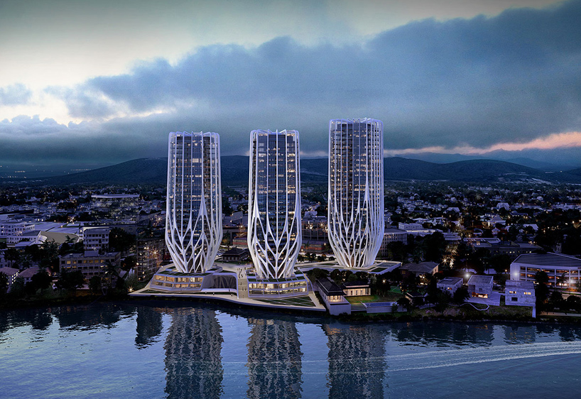 Zaha Hadid plans Grace on Coronation development for Brisbane