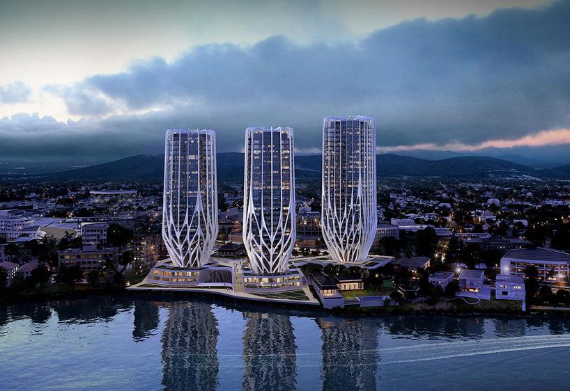 Zaha Hadid plans Grace on Coronation development for Brisbane