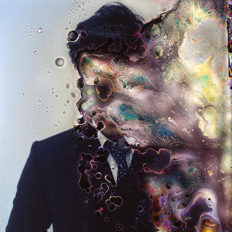 'Impermanence', Wonderfully Distorted Portrait Photos Created by Growing Fungus on the Film