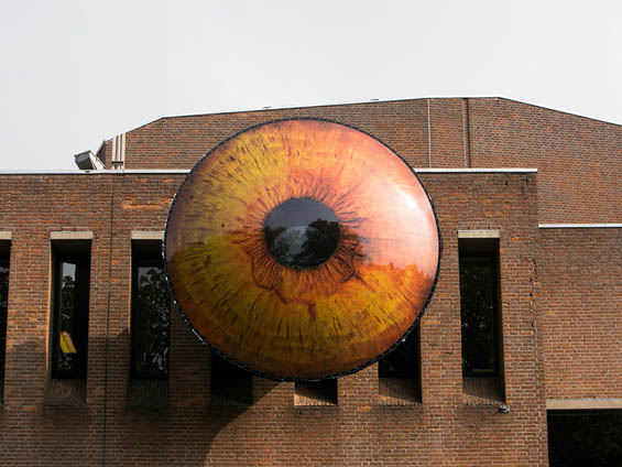 Multimedia EYE Project Invites Citizens To Sit In The Chair Of Surveillance