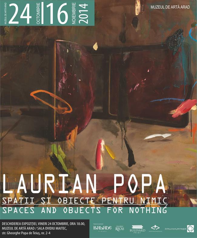 """Laurian Popa, """"Spaţii şi obiecte pentru nimic"""" @ Muzeul de Artă din Arad"""