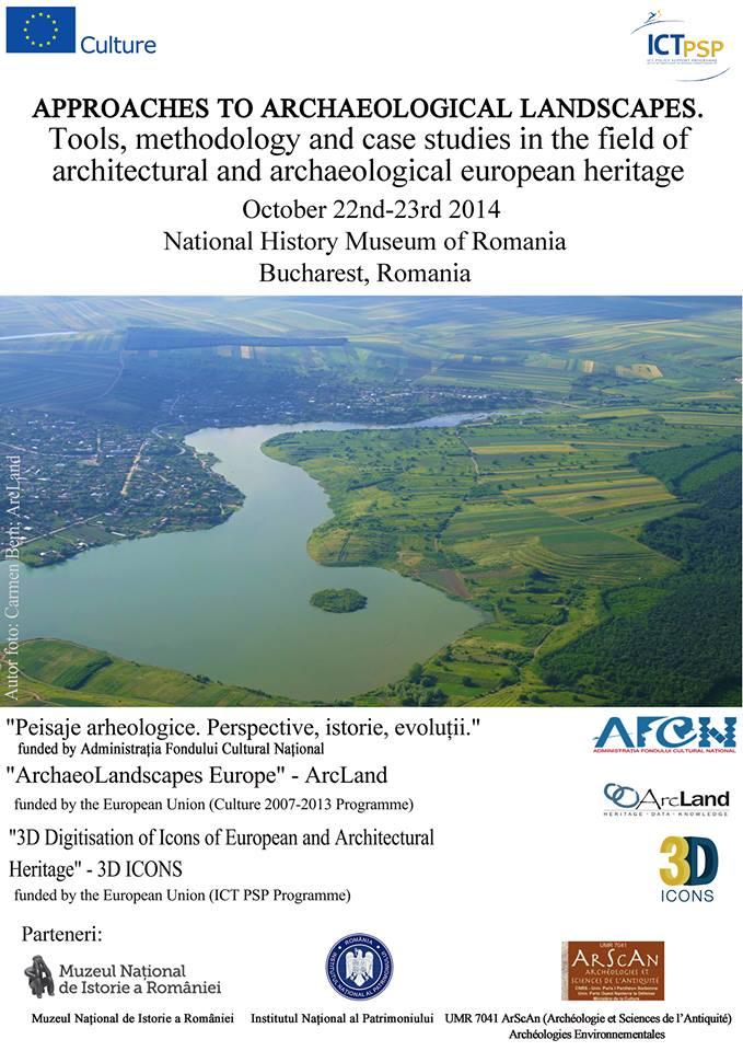 Abordări ale peisajelor arheologice @ Muzeul Naţional de Istorie a României