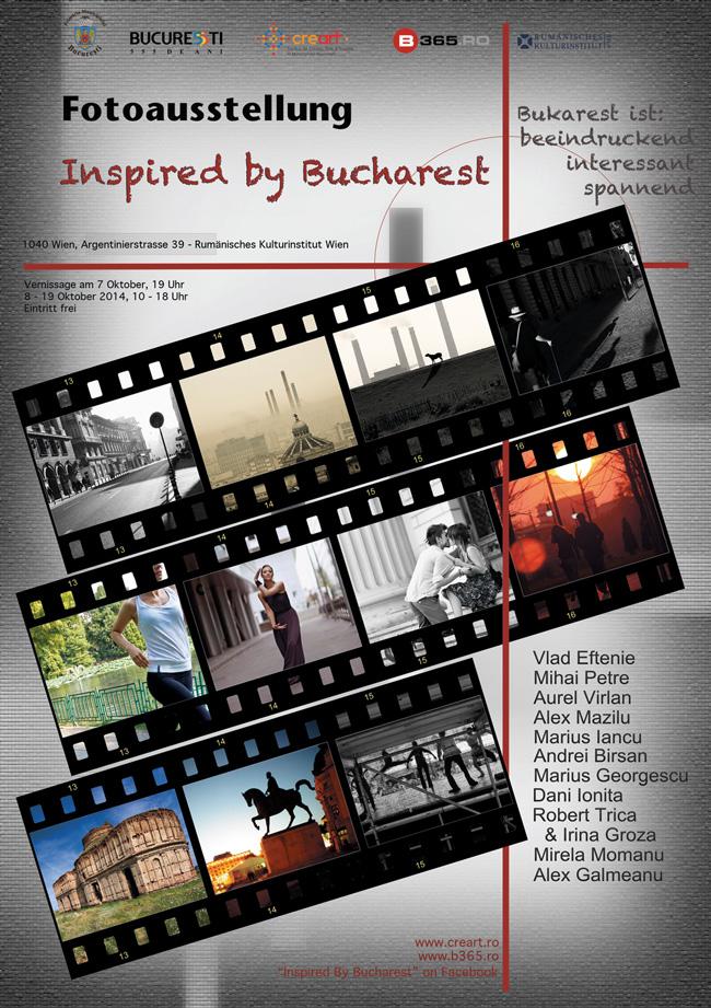 """Inspired by Bucharest"" @ Institutul Cultural Român de la Viena"
