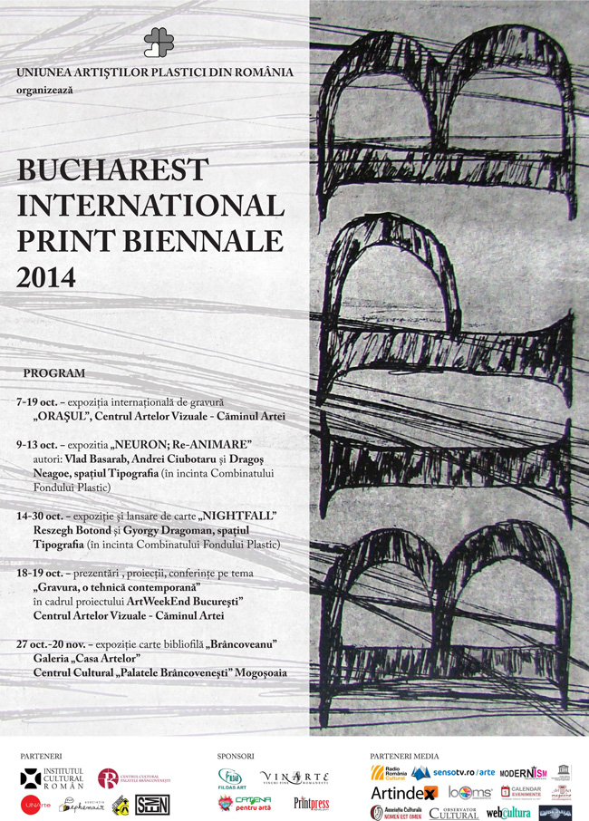 BUCHAREST INTERNATIONAL PRINT BIENNALE 2014