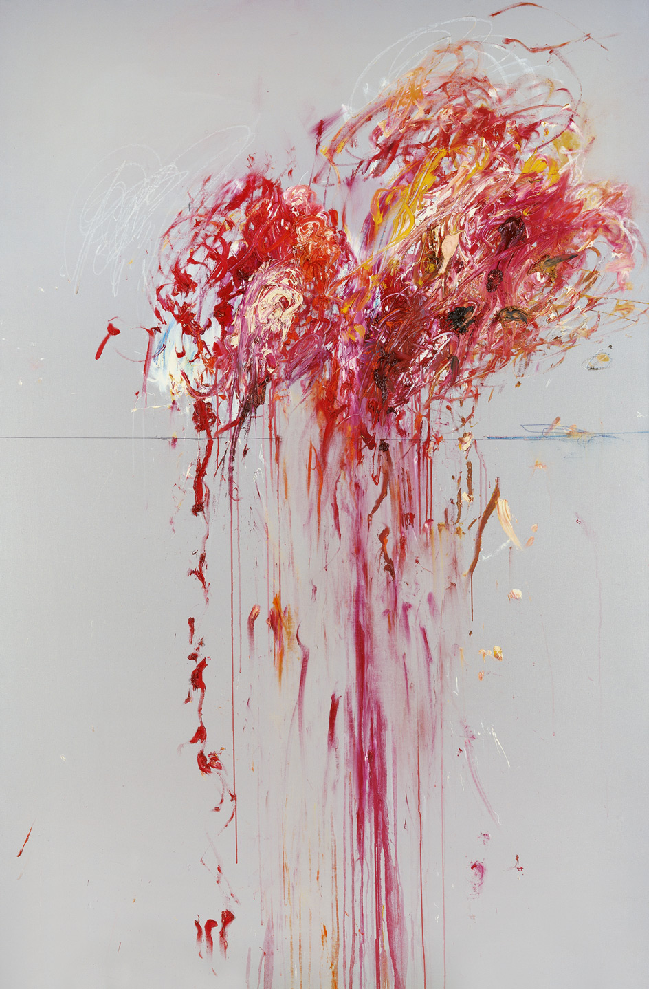 """Cy Twombly """"Nine Discourses on Commodus"""", 1963"""