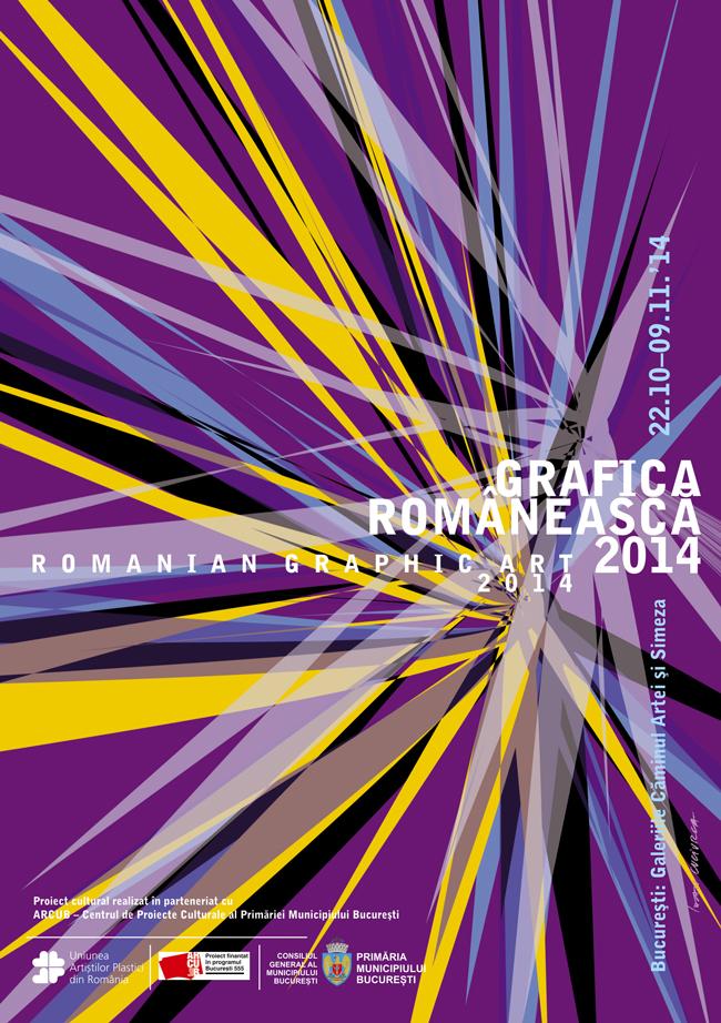 """""""Grafica românească 2014"""" @ Galeria Căminul Artei, București"""