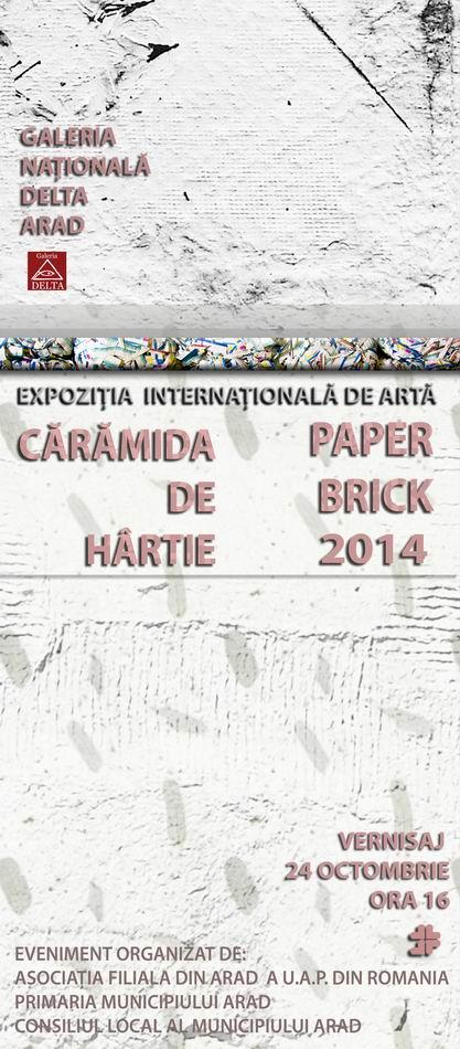 """Cărămida de Hârtie""""-ediţia I @ Arad"""