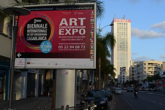 Bienala Internationala de Arta Contemporana Casablanca 2014 – partea a II-a