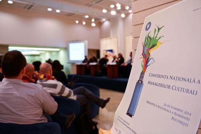 Conferinţa Naţională a Managerilor Culturali 2014