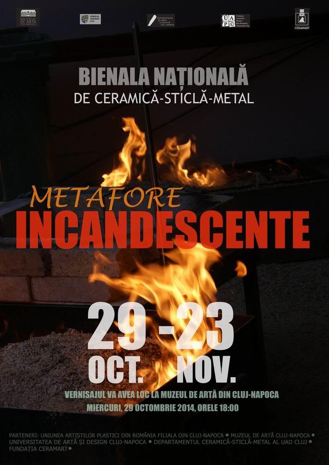 """Bienala Națională """"Metafore Incandescente"""", Cluj-Napoca – 2014"""