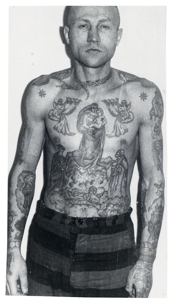 Fascinating Portraits Of Criminals Covered In Russian Prison Tattoos