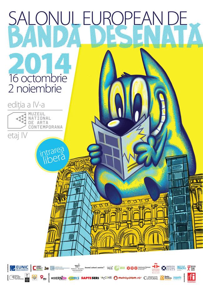 Salonul European de Bandă Desenată, la a 4-a ediție