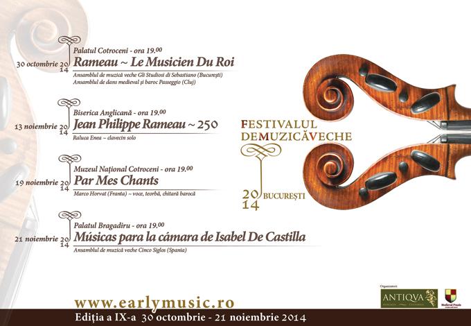 Festivalul de Muzică Veche Bucureşti la a IX-a ediţie