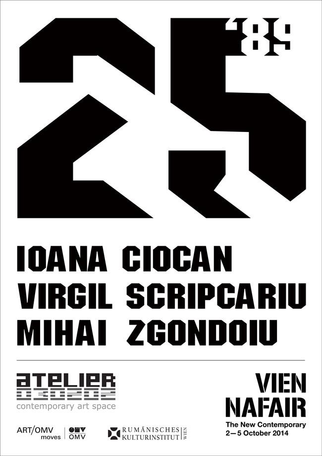 """Proiectul """"25"""" Atelier 030202 / Viennafair 2014"""