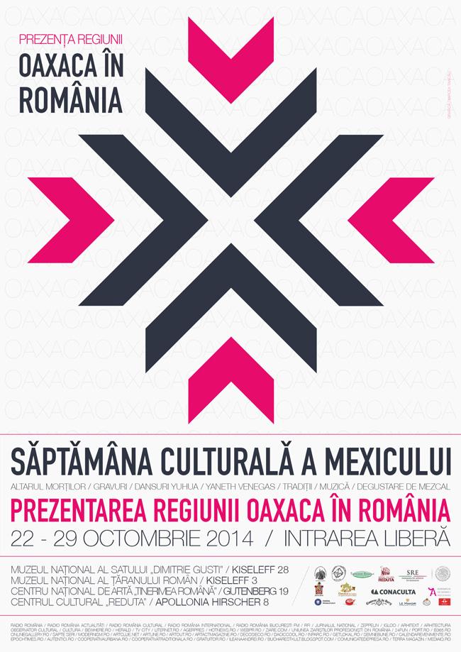 Săptămâna Culturală a Mexicului: Prezentarea Regiunii Oaxaca în România