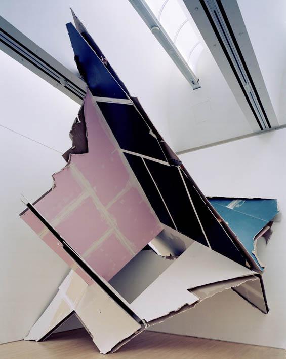 Felix Schramm Tears Down Walls And Rebuilds Them As Striking Sculptures