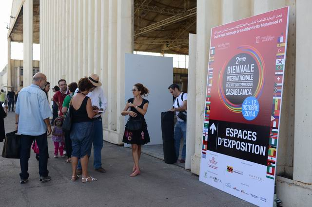 Bienala Internationala de Arta Contemporana Casablanca 2014 – prima parte