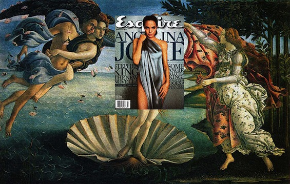 Mash Ups Pair Classical Art With Contemporary Magazines Covers