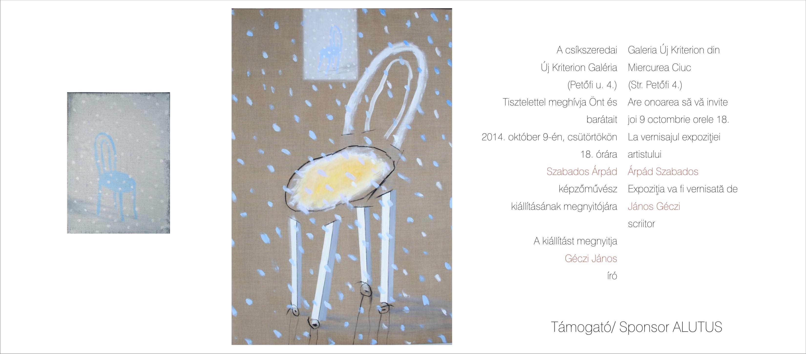 Expoziția pictorului Árpád Szabados @ Galeria Új Kriterion, Miercurea Ciuc