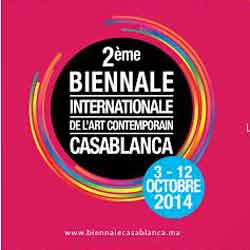 International Biennial of Casablanca, Maroc 2014