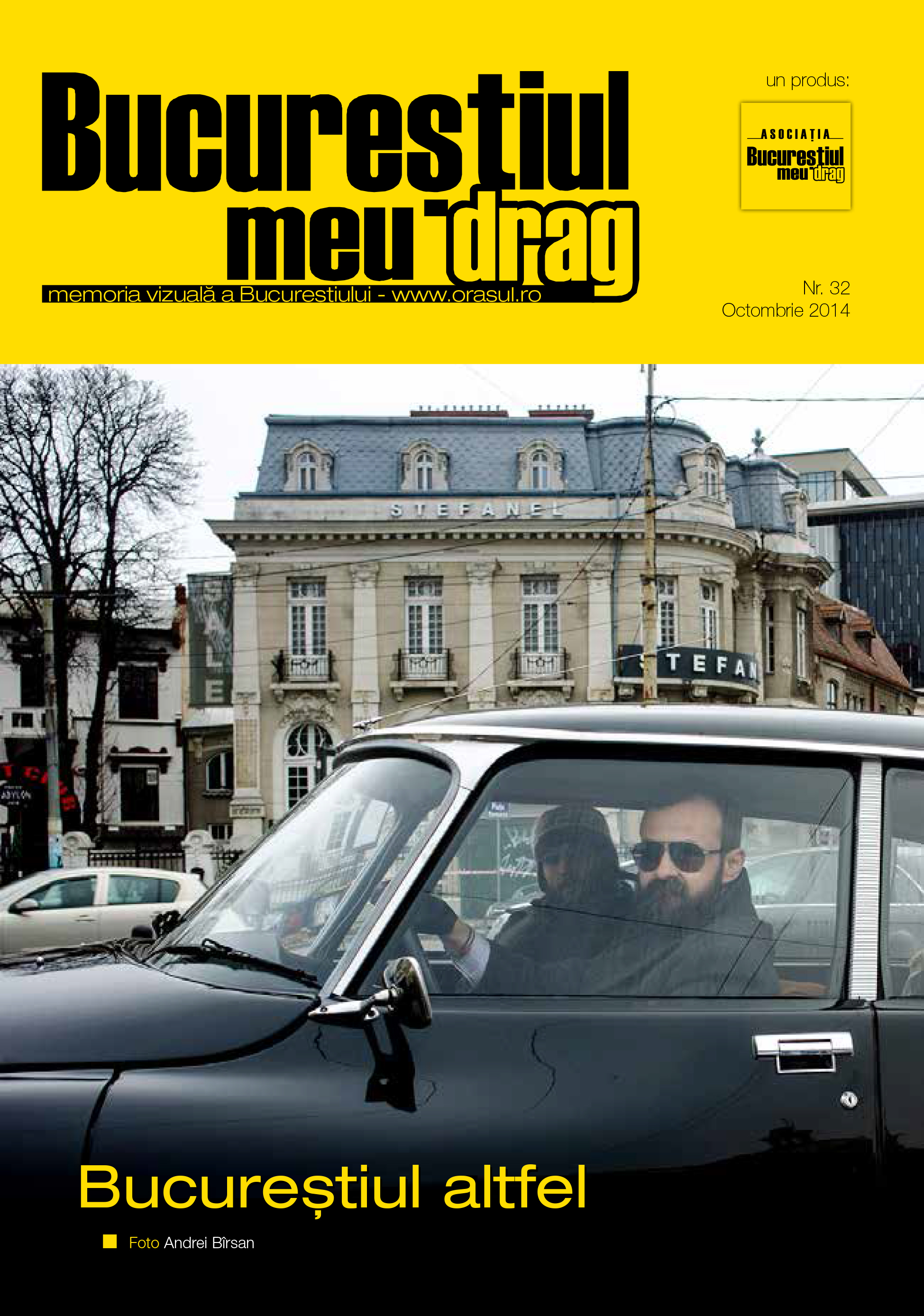 """Numarul 10/2014 al Revistei """"Bucurestiul meu drag"""""""