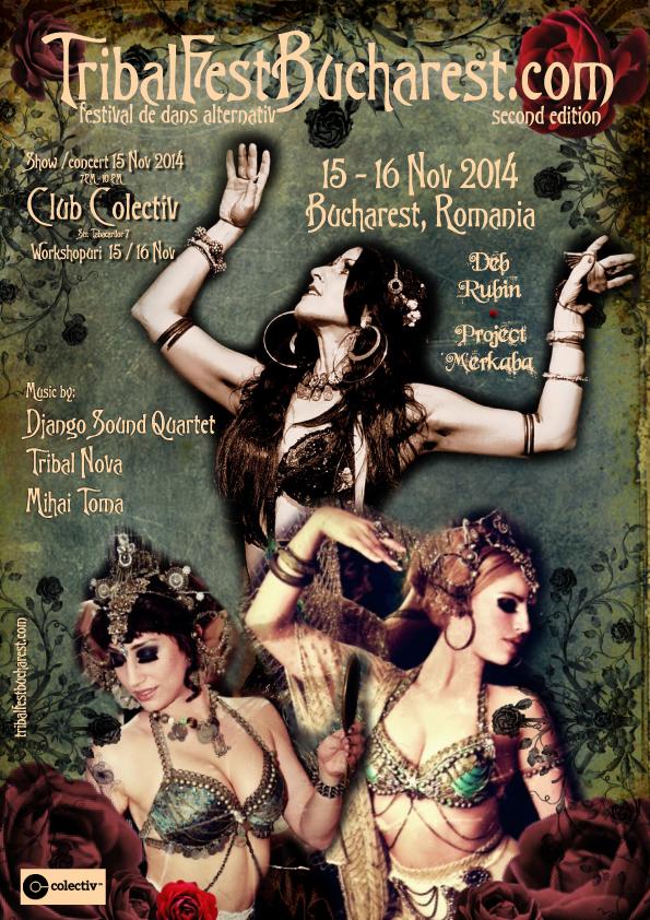 TribalFestBucharest, singurul festival de dans alternativ din Romania