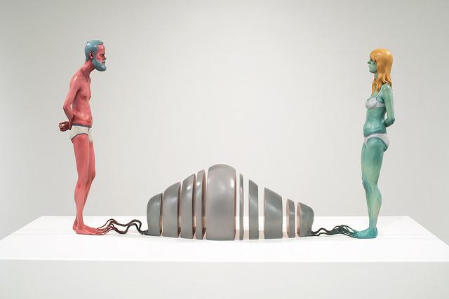 """Troy Coulterman's """"Digital Handshake"""" at MacKenzie Art Gallery"""