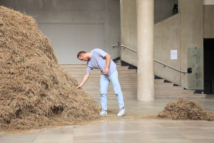 Sven Sachsalber Literally Looks For A Needle In A Haystack As Part Of 24 Hour Performance