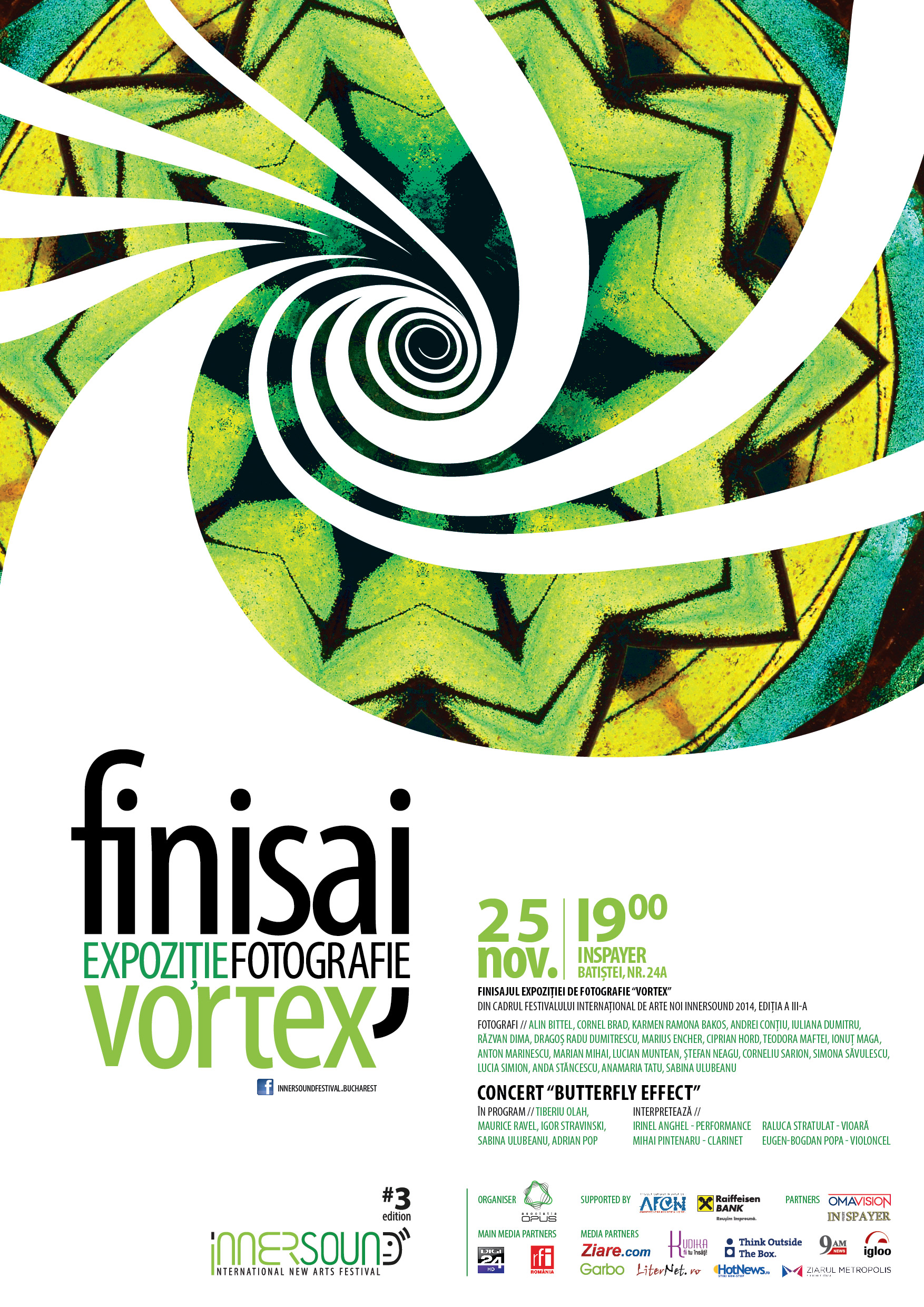 Finisaj VORTEX –  fotografie & concert-performance  @ InSpayer