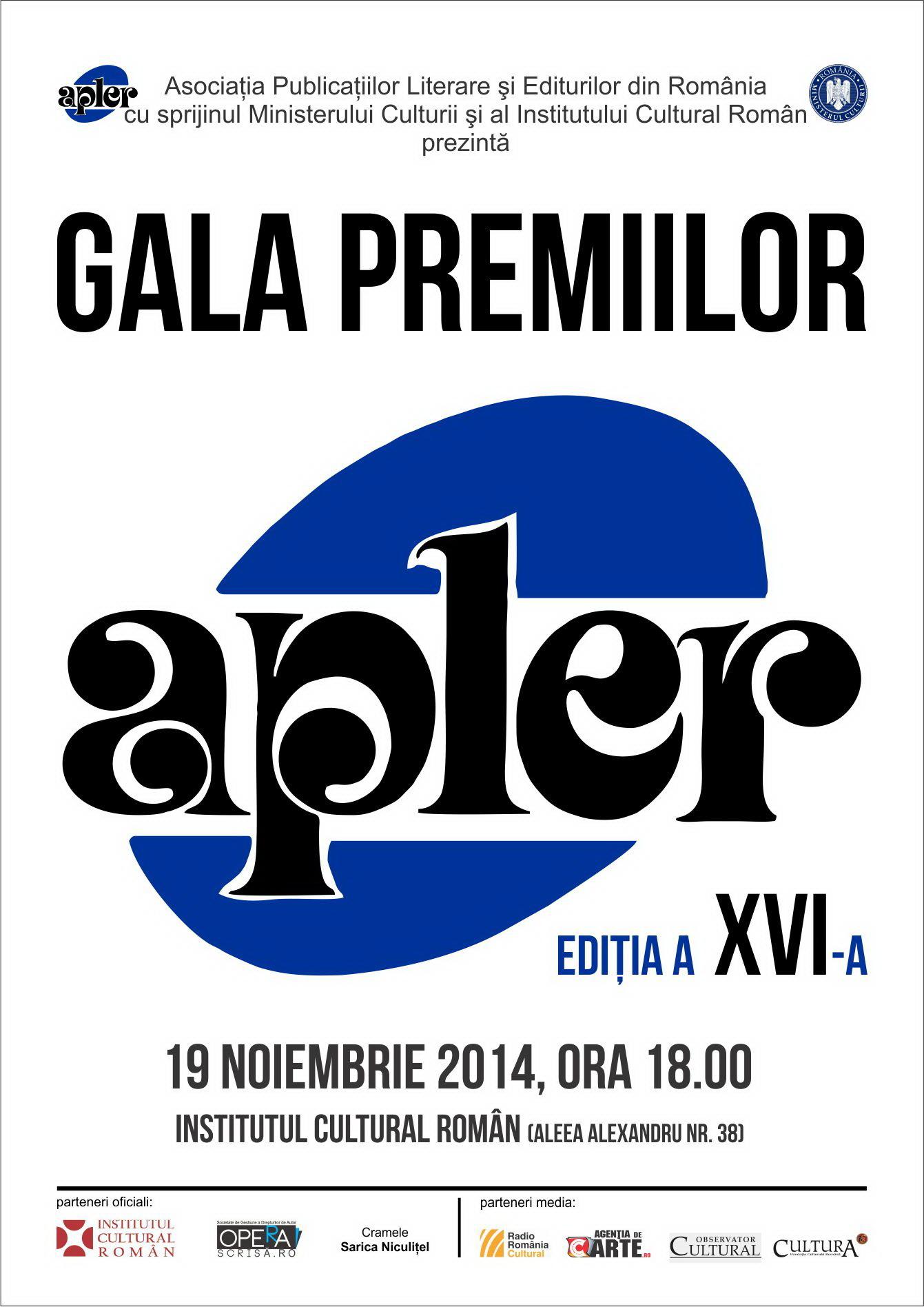 Gala Premiilor APLER 2014