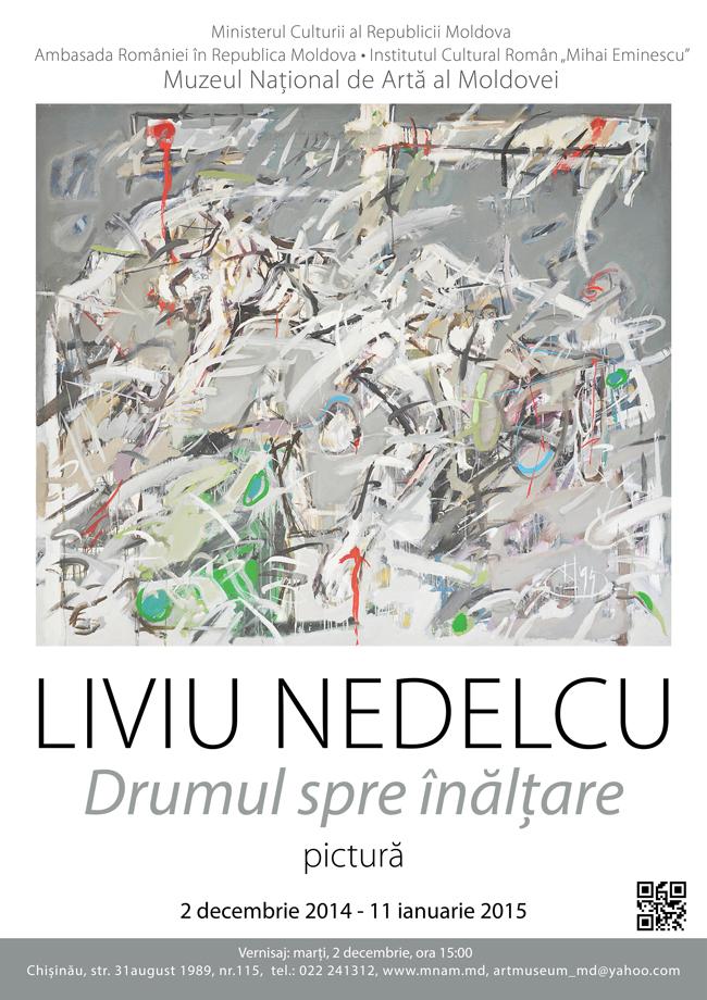 """Expoziția """"Drumul spre înălţare"""" a artistului plastic Liviu Nedelcu @ Muzeul Naţional de Artă al Moldovei"""