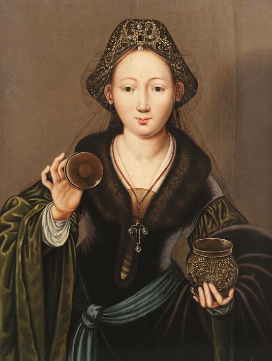 Anonim neerlandez - Sfanta Maria Magdalena, 1510-1550