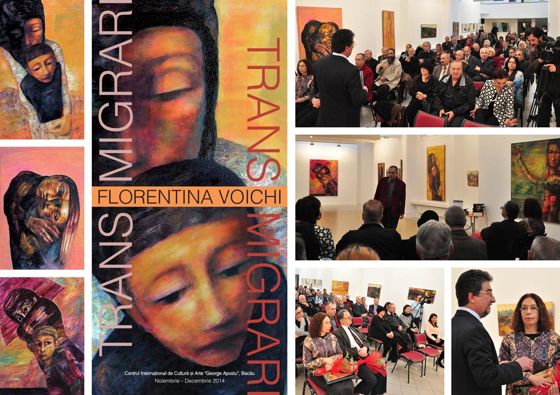 """Florentina Voichi """"Transmigrări"""" @ Centrul de Cultură """"George Apostu"""" din Bacău"""