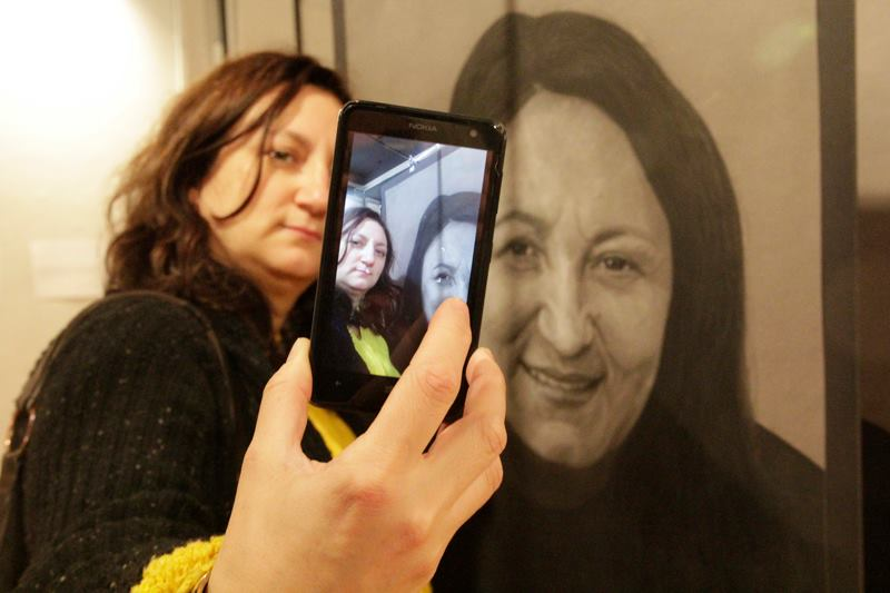 Irina Broboană #SELFIES @ ATELIER 030202, București