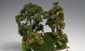 Kendal Murray's Incredibly Miniature Nature Scenes Built On Top Of Household Objects