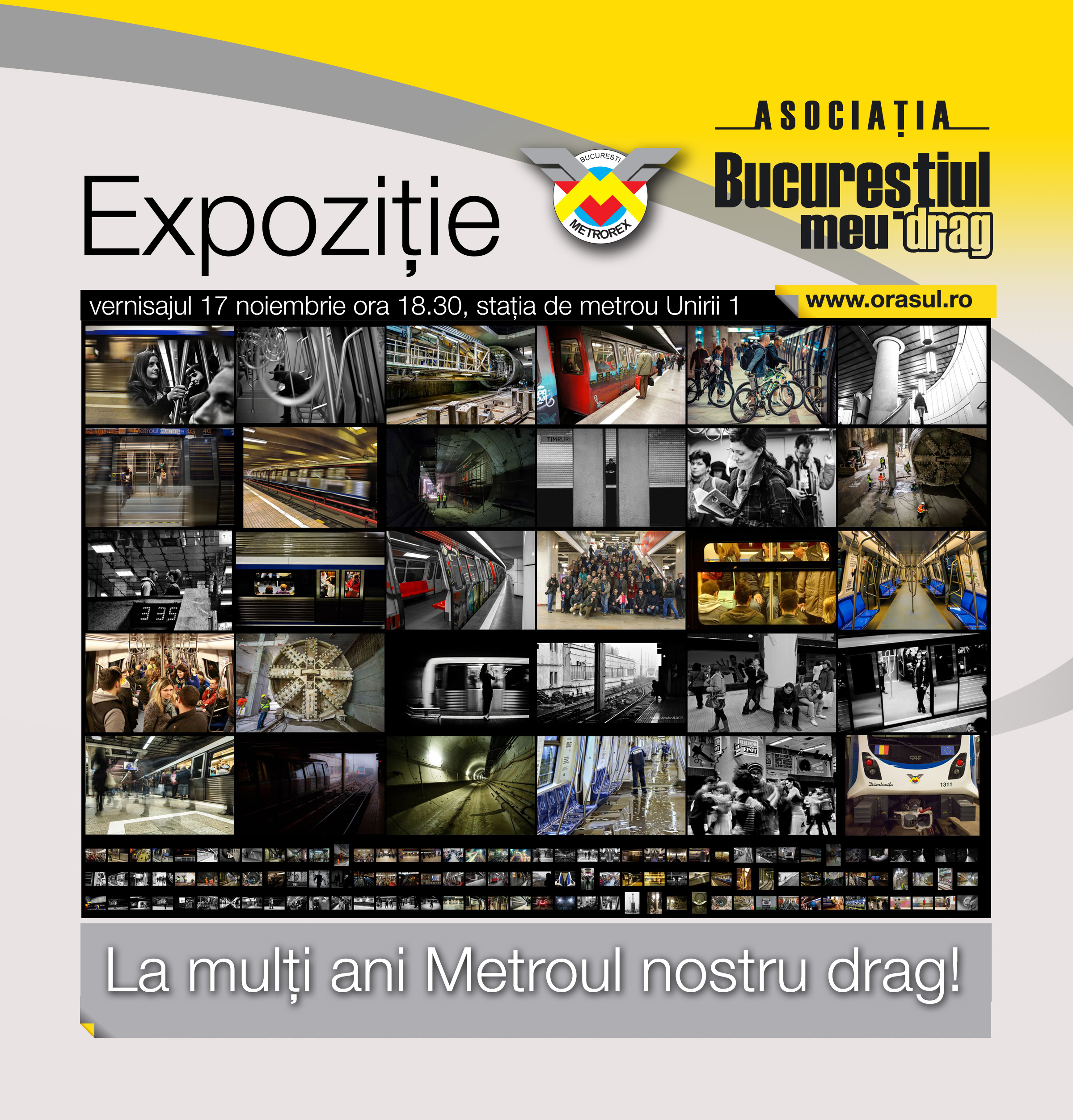 La multi ani Metroul nostru drag – expozitie de fotografie