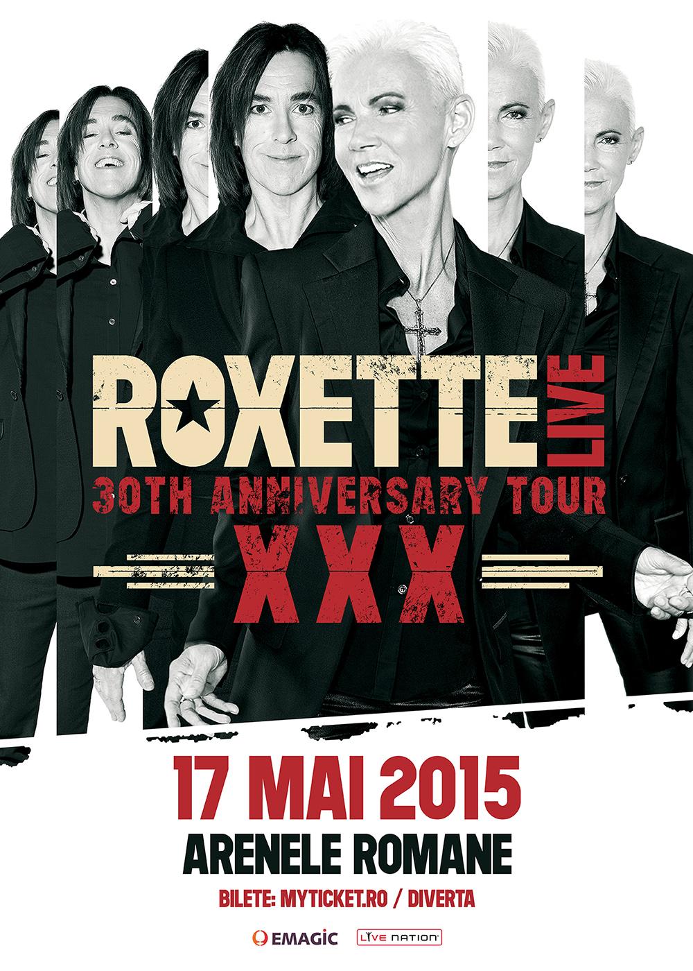 ROXETTE revine la București!