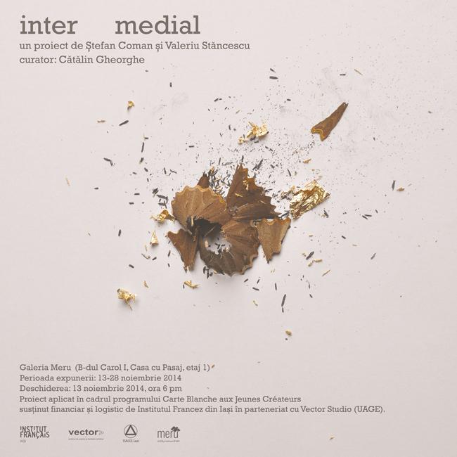 Ștefan Coman și Valeriu Stăncescu @ Galeria Meru & Vector Studio, Iași