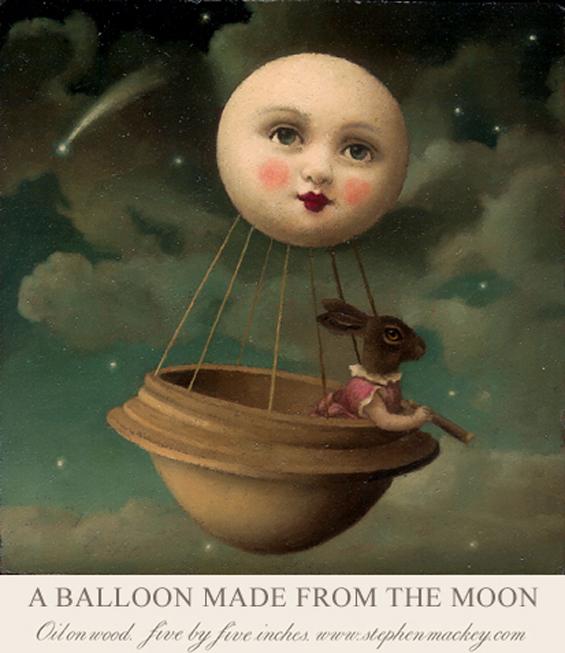 Stephen Mackey's Fantastical Soft-Focus Fairy Tale Paintings