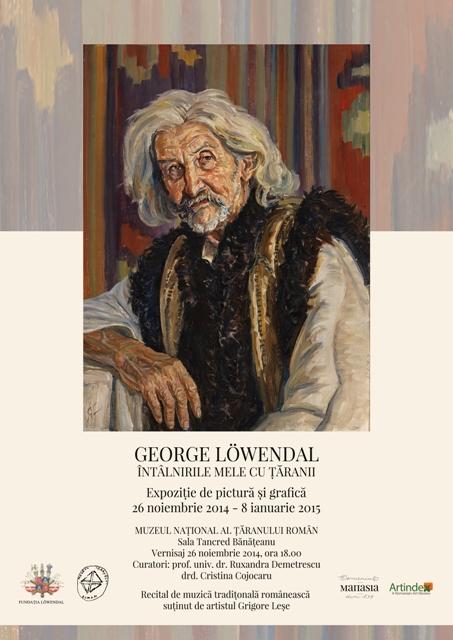 George Löwendal. Întâlnirile mele cu țăranii @ Muzeul Național al Țăranului Român