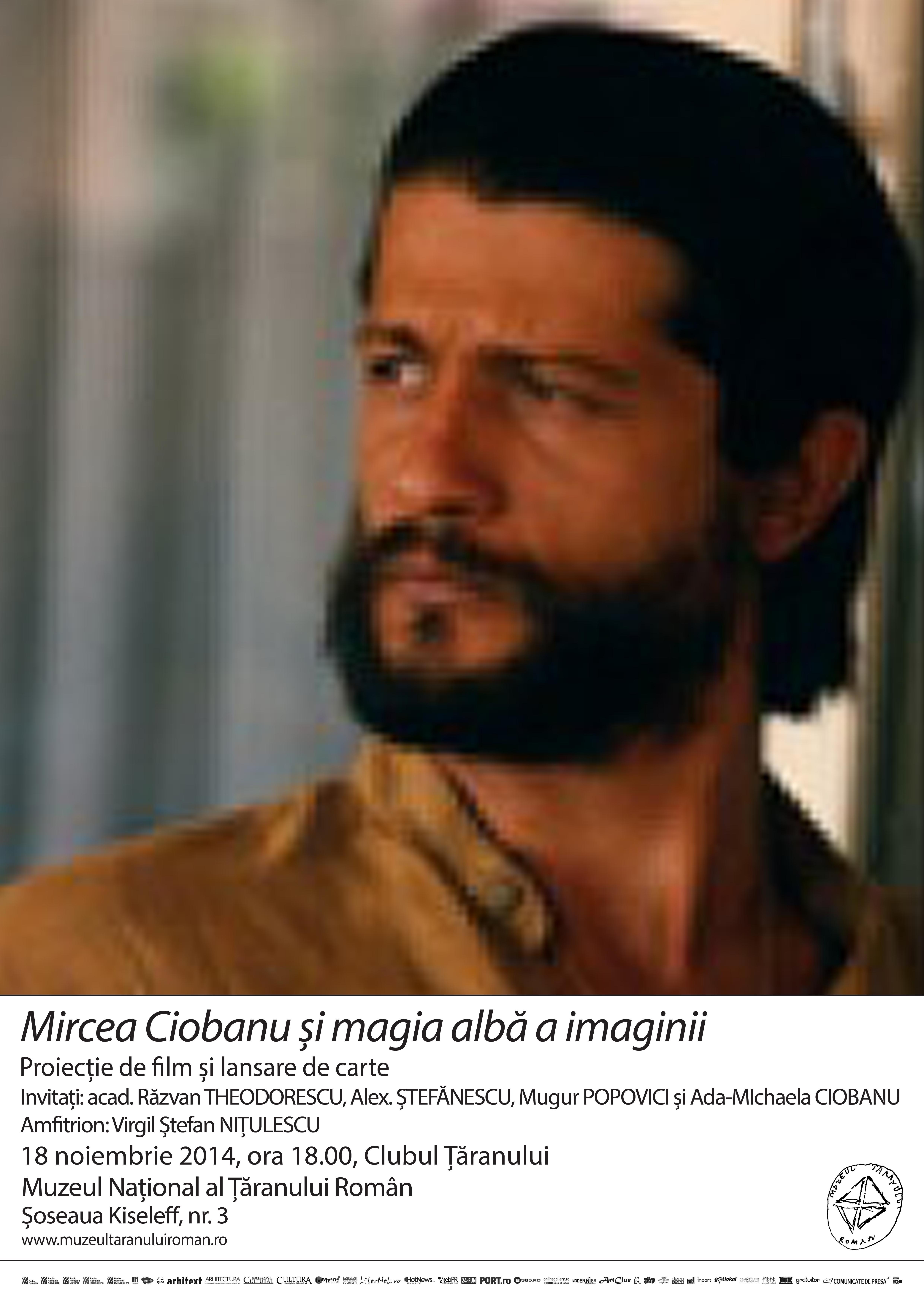Mircea Ciobanu și magia albă a imaginii @ MTR