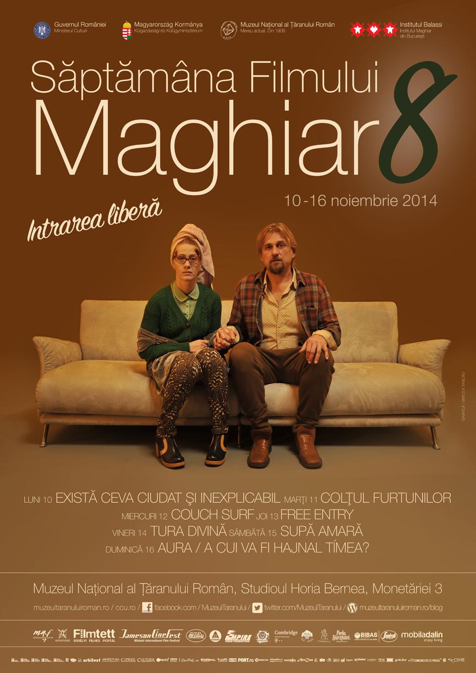 Săptămâna Filmului Maghiar, ediția a 8-a @ Muzeul Național al Țăranului Român