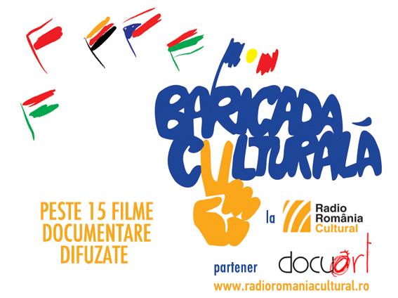 Docuart, parte din Baricada Culturală alături de Radio România Cultural