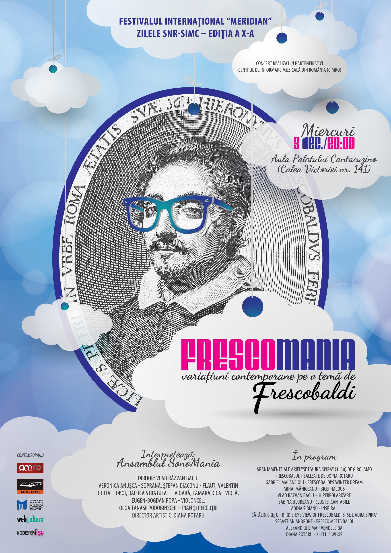 concertul FRESCOMANIA – Variaţiuni contemporane pe o temă de Frescobaldi