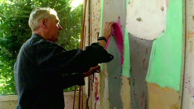 Blind painter Sargy Mann: Painting with inner vision – BBC News
