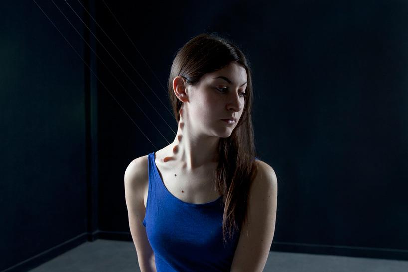 Physical Skin Manipulations by Juuke Schoorl Reconsider the Human Body